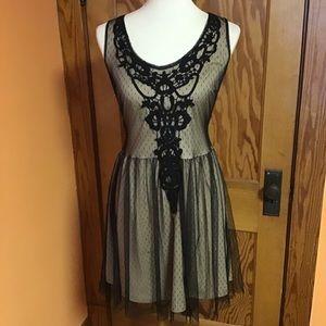 Gothic feminine lace Feminine xhilaration dress